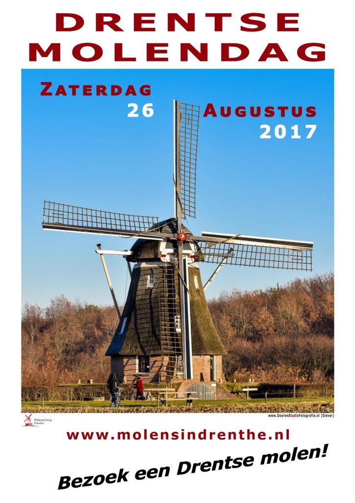 Affiche Drentse molendag 2017