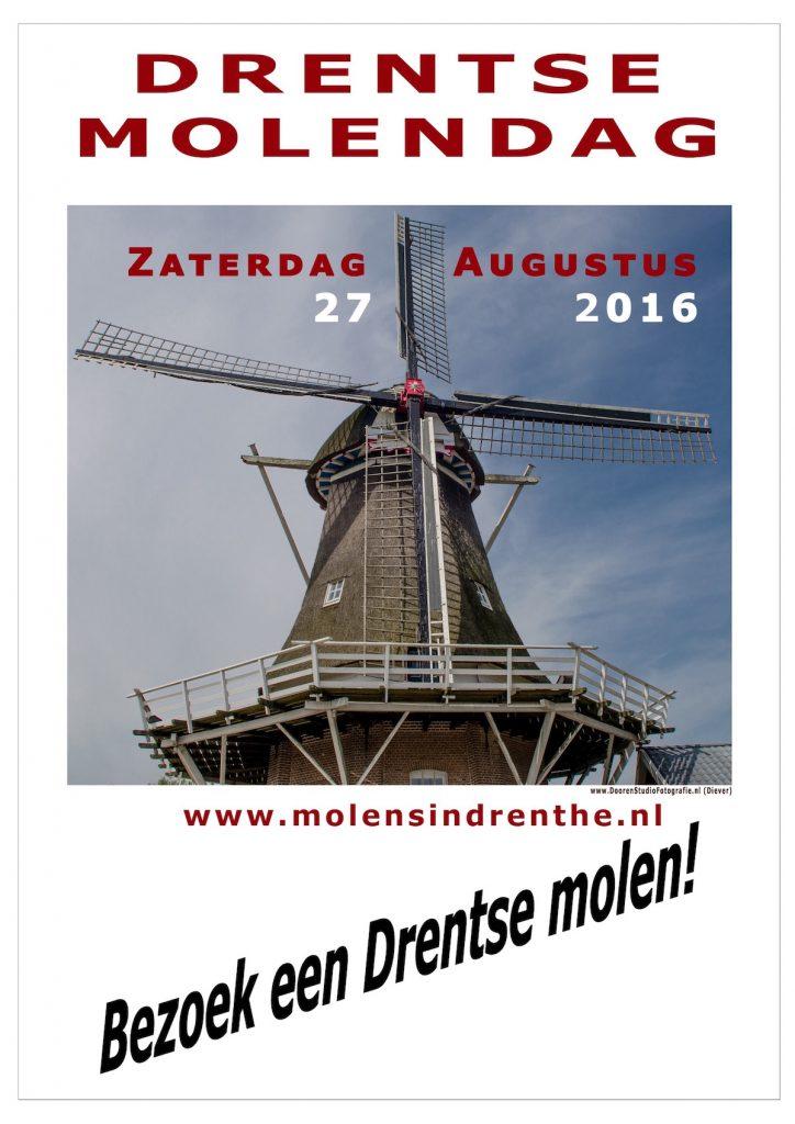 Drentse Molendag affiche 2016_