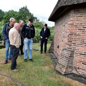 Ruinen inspectie nieuwe waterafvoer