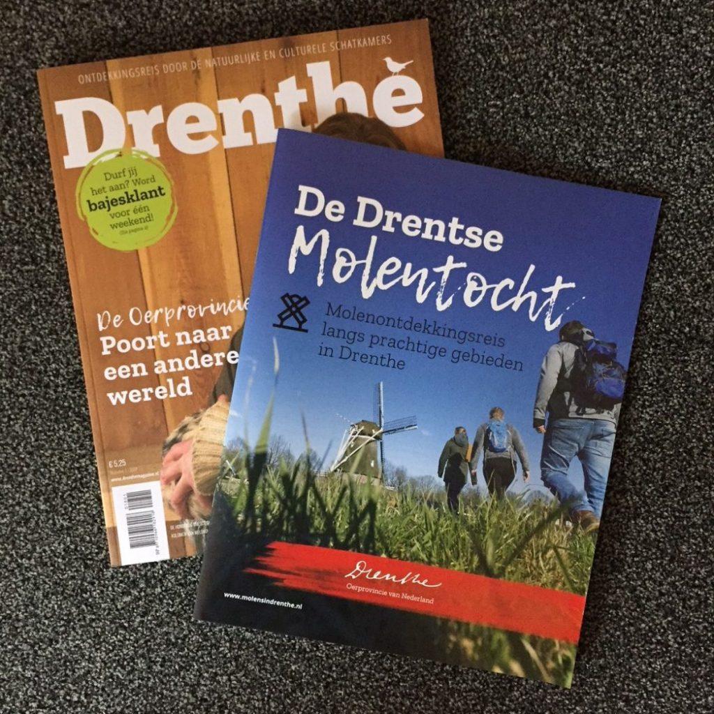 De Drentse Molentocht - Molenontdekkingsreis langs prachtige gebieden in Drenthe