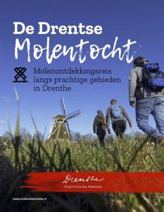 Voorkant De Drentse Molentocht - molenontdekkingsreis