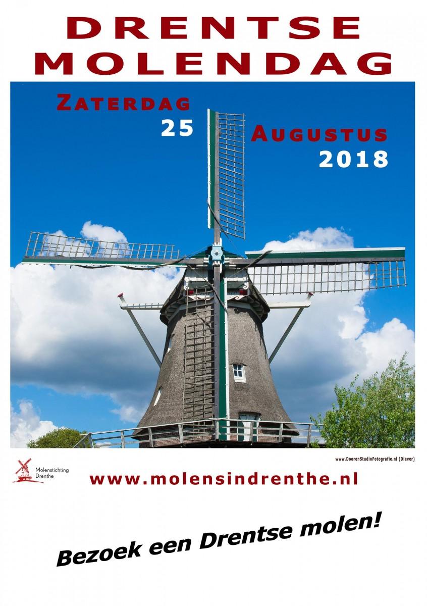 Affiche Drentse molendag 2018
