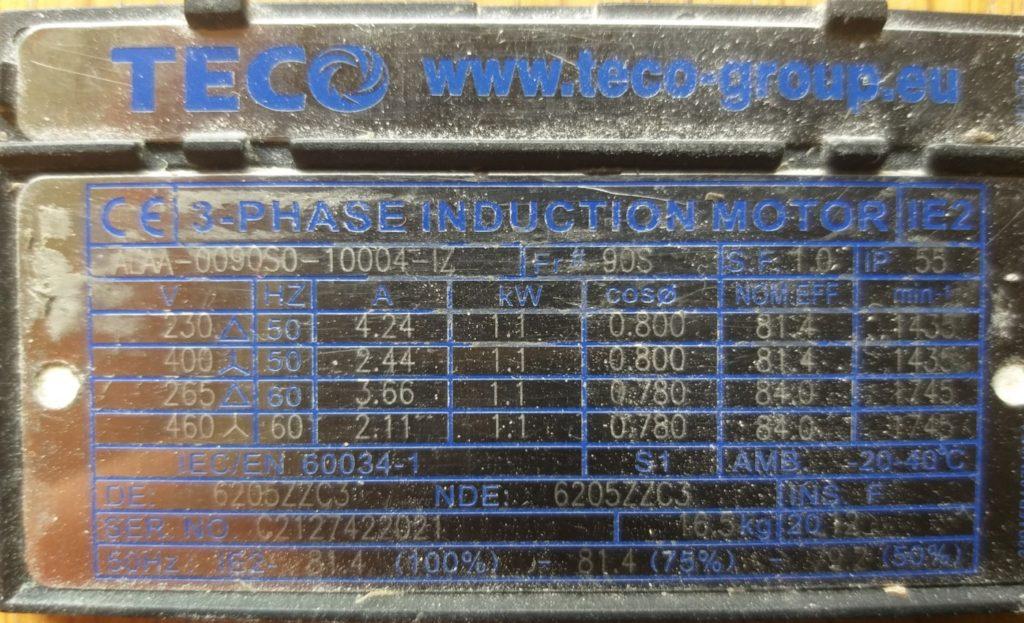 Specificaties Elektromotor Zwaluw Hoogeveen