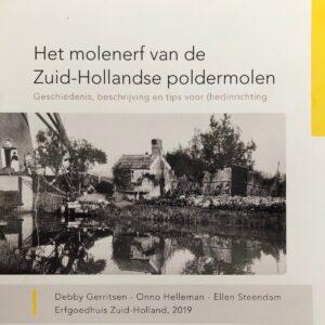 boek over molenerven Zuid-Holland