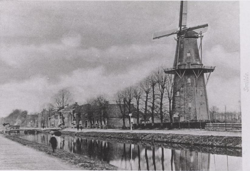 Korenmolen smilde rond 1900