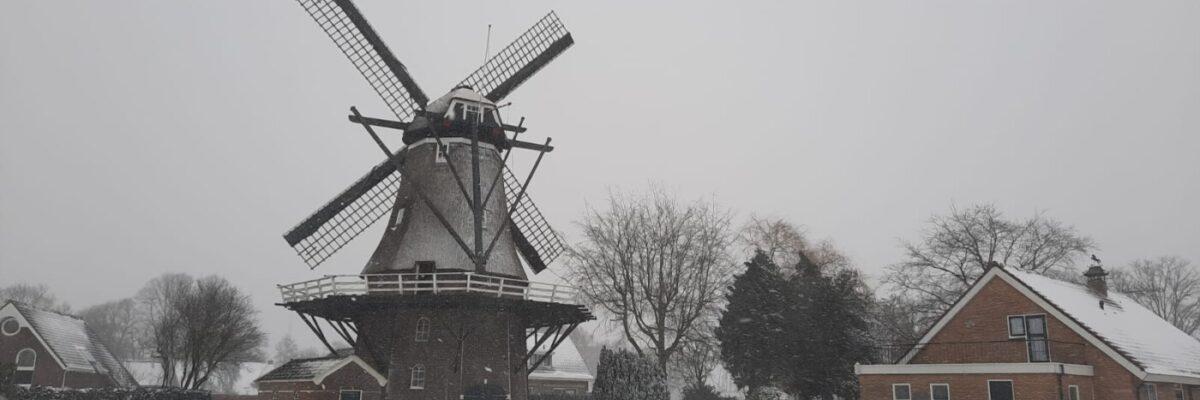 Sneeuw De Arend Coevorden